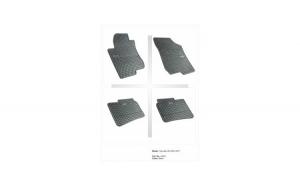 Covorase Presuri interior cauciuc Premium dedicate Hyundai i30 2 2012-2017