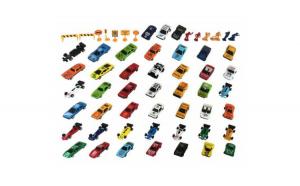 Set 58 masinute si accesorii drum JstJ