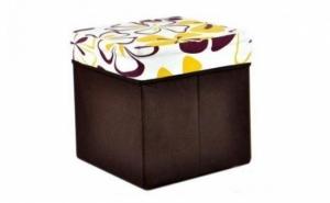 Scaun-cutie fashion pentru depozitare, cu dubla functie: cutie depozitare si taburet, pentru doar 24 RON in loc de 99 RON