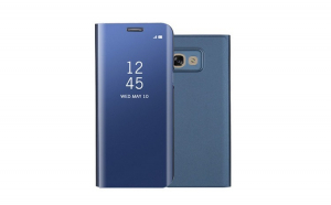 Husa Samsung Galaxy A5 2017 Flippy Flip Cover Oglinda Albastru