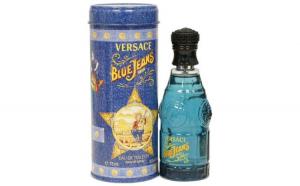 Apa de toaleta Versace Blue Jeans, barbati, 75ml