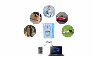 Mini GPS Tracker Q8 pentru copii, precizie localizare 5 m