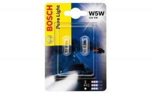 Set becuri Bosch W5W Pure Light