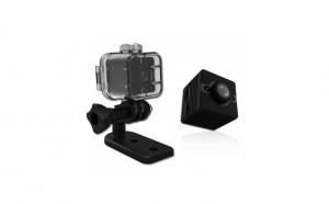 Mini camera SQ12 Foto-Video, Full HD, cu carcasa rezistenta la apa