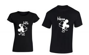 Set de tricouri pentru cuplu HIS/HER