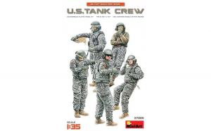 1:35 U.S. Tank Crew - 5 figures 1:35