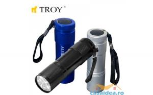 Set de lanterne din aluminiu cu baterii  3 buc. TROY