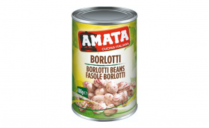 Fasole pestrita Borlotti Amata - 400 gr
