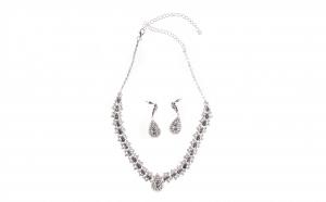 Set bijuterii dama, Rhinestone cu cristale
