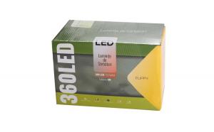Instalatie de Craciun Premium Flippy® Tip Perdea cu Flash 8 m / 1m 360 LED-uri Multicolor 2101RBRG Interconectabila