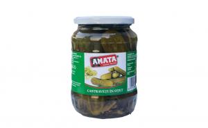 Castraveti in otet Amata 720ml