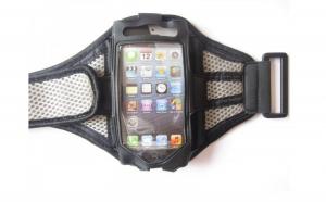 Husa brat pentru alergat Apple iPhone 4, 4S, 5, la 18 RON in loc de 39 RON