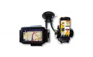 Suport Auto Pentru Telefon Dublu Pentru
