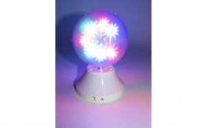 Glob disco cu joc de lumini, 15 cm, 52-1