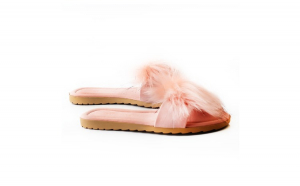 Papuci de casa, EHA, culoare Roz, 36