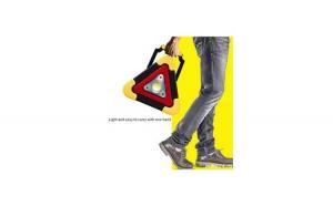 Triunghi SOS Cu Lanterna LED COB , LED