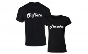"""Set de tricouri """"Suflete Pereche"""""""