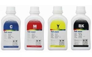 Pachet flacon refill cerneala dye negru,cyan,magenta,galben EPSON 500ml T1801,T1802,T1803,T1804 (18)