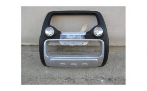 Bullbar inox cu proiectoare compatibil NISSAN NAVARA D40 2005->