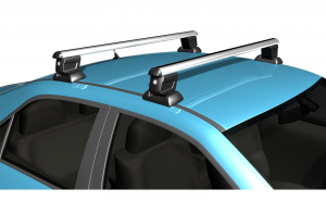 Bara / Set bare portbagaj cu cheie FORD Focus II 2004-2011 Sedan - ALUMINIU - KVO009B120
