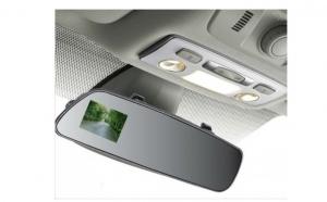 Oglinda retrovizoare cu camera incorporata, la DOAR 419 RON, de la 1100 ! Puteti inregistra audio si video la rezolutia full hd, iar filmuletele le puteti viziona direct de pe ecranul camerei auto