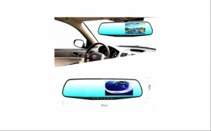 Oglinda retrovizoare auto cu camera fata-spate