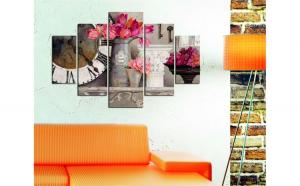 Set tablouri, 5 piese , Wallity , 92x56 cm , peisaj