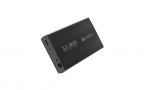 """Carcasa metalica pentru HDD 3.5"""" cu port USB 3.0"""