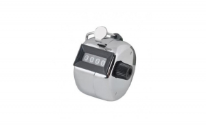 Dispozitiv de numarare manual, argintiu