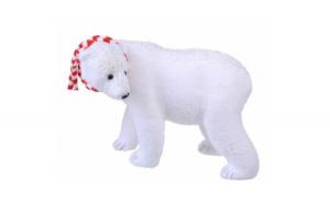 Urs polar 22 cm x 19 cm figurina
