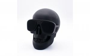 Boxa Portabila Cu Bluetooth, Radio, USB, microSD, AUX – Skull Speaker (Craniu)