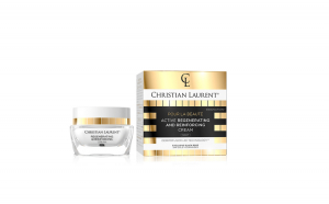 Crema de fata, Christian Laurent, Activ Regeneratoare De Noapte, Exclusive Black Rose, 24k Gold, 50 ml