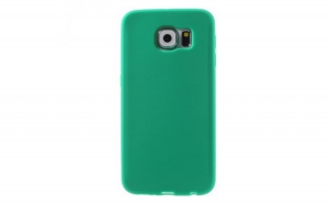 Husa Samsung S6 Soft Silicon Green