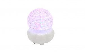 Glob disco cu joc de lumini, led, alb