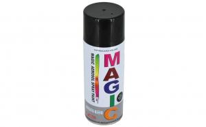 Vopsea spray Magic negru lucios, 400 ml