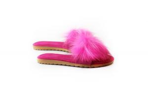 Papuci de casa, EHA, culoare Ticlam, 39