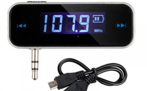 Modulator FM AUTO MASINA LCD Wireless 3.5mm Transmitter MP3 Player iPhone etc