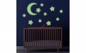 Luna + stele fosforescente