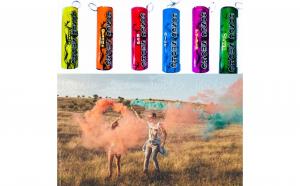 Fumigene colorate pentru sedinte foto cu inel