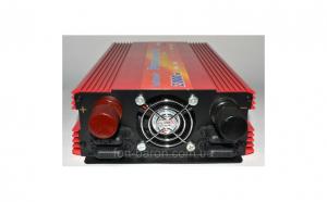 ONI-LaiRun 2000W - Invertor tensiune 12V-220V Lairun, 2000 W putere continua 1200w
