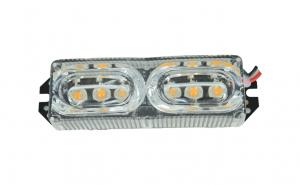 Stroboscop LED portocaliu 12V
