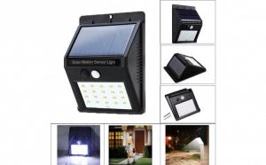 Lampa cu incarcare solara