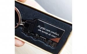 Breloc camion gravat personalizat, Abecedarul reducerilor