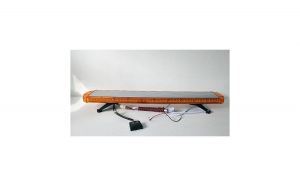 Rampa girofar cu lumina portocalie - 120 cm