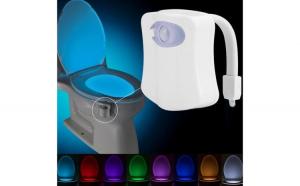 Led pentru vasul de toaleta cu senzor