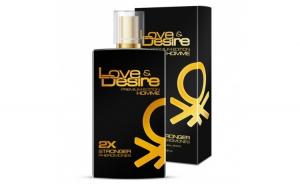 Parfum energizant Love&Desire Gold men - 100ml