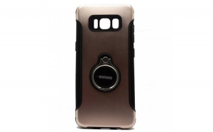 Husa Samsung Galaxy S8 Motomo Ring Roz-Auriu