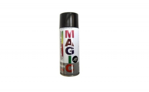 Magic Vopsea spray negru metalizat 676