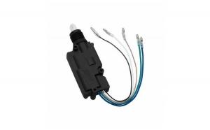 Actuator auto universal cu 5 fire plat, pentru inchidere centralizata + accesorii instalare