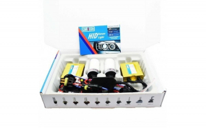 Kit Xenon 55w Fast Bright Cartech digital AC Premium H9 12000k